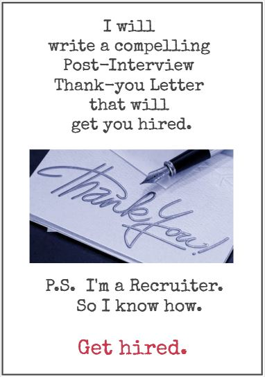 post-interview thank you note fivverr get hired gratitude 350x500