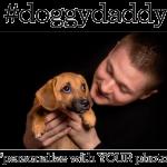 Customized Doggy Daddy Father's Day Photo Personalized Coffee Mug